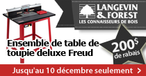 Langevin - Deal table a toupie