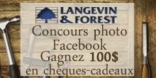Concours Facebook - Langevin Forest