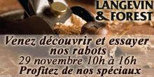 Langevin - Evenement rabots
