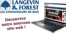 Nouveau site web - Langevin Forest