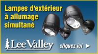 Lee Valley - Lampe extérieur