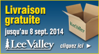 Lee Valley - Free shipping sept