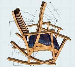 la r f rence en b nisterie courbe des berceaux pour chaises. Black Bedroom Furniture Sets. Home Design Ideas