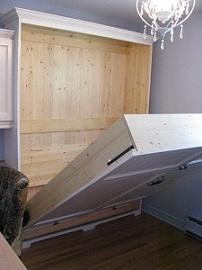 la r f rence en b nisterie lit escamotable 1 1. Black Bedroom Furniture Sets. Home Design Ideas