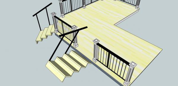 La r f rence en b nisterie rampe galleri - Comment installer une rampe ...