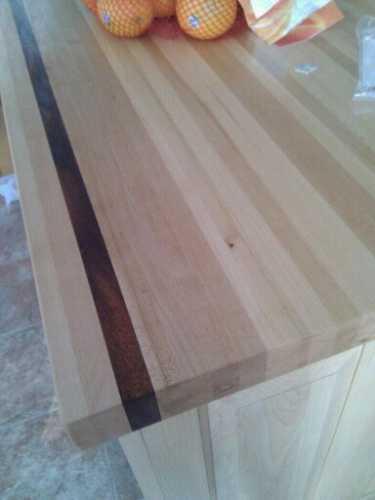Dessus de comptoir en bois lamortaise - Dessus de comptoir en bois ...