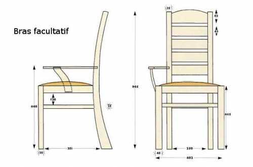 la r f rence en b nisterie chaise de cuisine 1 2. Black Bedroom Furniture Sets. Home Design Ideas