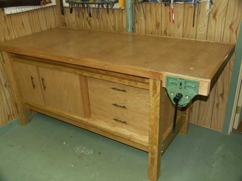 la r f rence en b nisterie fabriquer une surface de travail. Black Bedroom Furniture Sets. Home Design Ideas