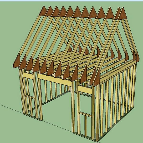 la r f rence en b nisterie plan cabanon 1 2. Black Bedroom Furniture Sets. Home Design Ideas