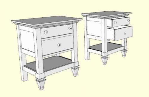 la r f rence en b nisterie sketchup 4 8. Black Bedroom Furniture Sets. Home Design Ideas