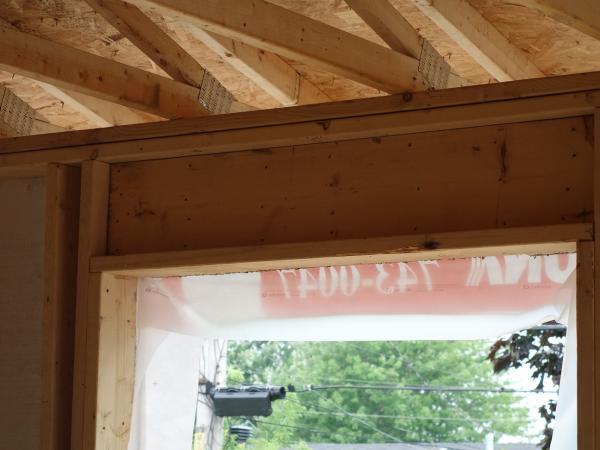 La r f rence en - Porte de garage sans retombee de linteau ...