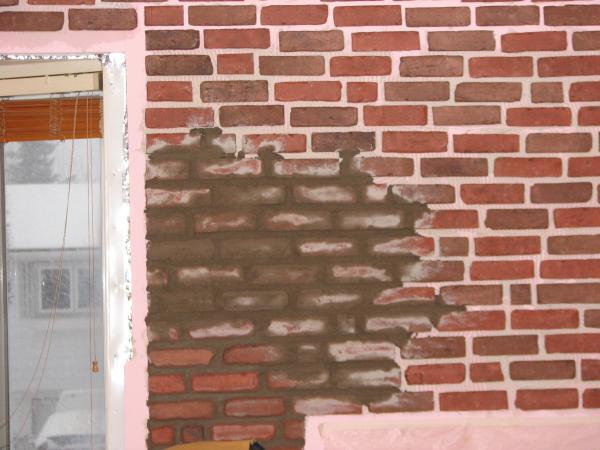 La r f rence en for Mur de brique decorative