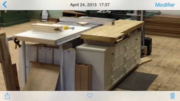 la r f rence en b nisterie table de sortie pour banc de. Black Bedroom Furniture Sets. Home Design Ideas
