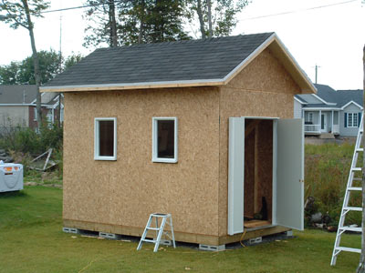 la r f rence en b nisterie fabrication d 39 une remise. Black Bedroom Furniture Sets. Home Design Ideas