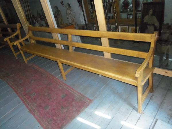 la r f rence en b nisterie banc d 39 glise 9 pieds 1 1. Black Bedroom Furniture Sets. Home Design Ideas