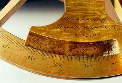 Theodolite LaMortaise.com - Instrument de mesure :Le vernier dépaisseur