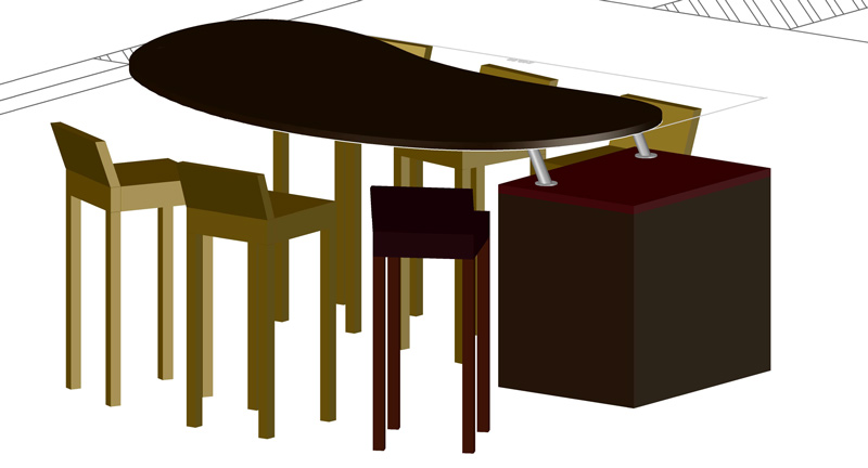 TableVue3D LaMortaise.com - Plateaux/Table multicouche - Forum LaMortaise.com - La référence en ébénisterie